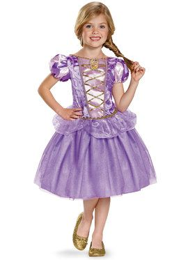 Disney's Tangled Rapunzel Classic Girls Costume
