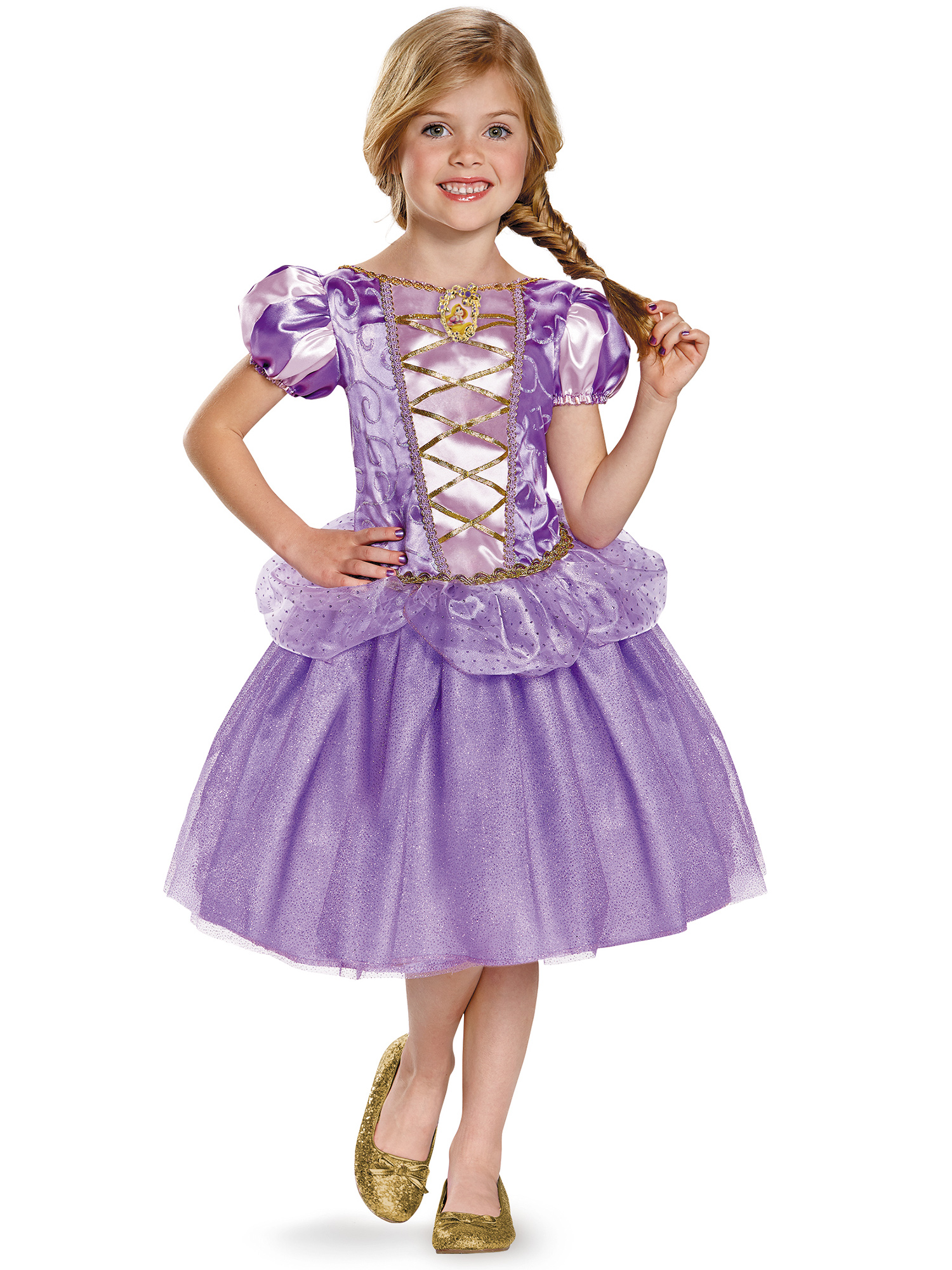 Disguise Inc Rapunzel Costume For Kids