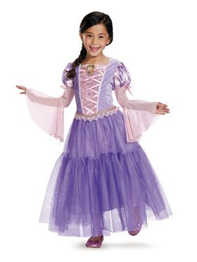 Disney's Tangled Rapunzel Deluxe Girls Costume