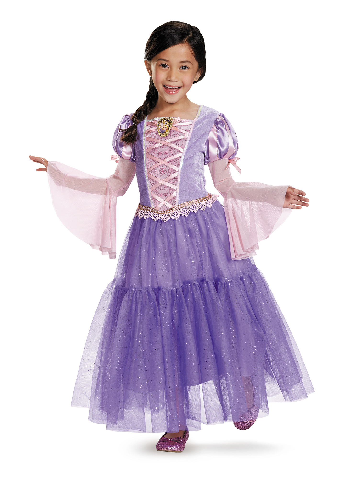 Rapunzel Girls Costume DI98487-S