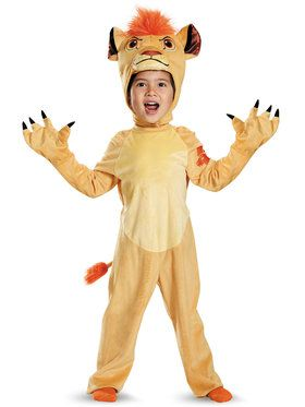 Disneyu0027s The Lions Guard Kion Deluxe Youth Costume  sc 1 st  Wholesale Halloween Costumes : disney goofy costume for kids  - Germanpascual.Com