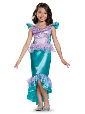 Disney's The Little Mermaid Ariel Classic Girls Costume