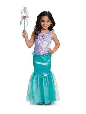 Disney's The Little Mermaid Ariel Deluxe Girl's Costume