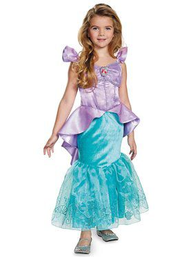 Disney's The Little Mermaid Ariel Prestige Girls Costume