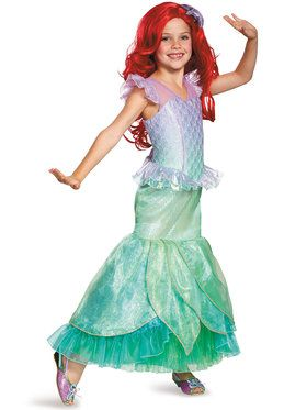 Disney's The Little Mermaid Ariel Ultra Prestige Girl's Costume