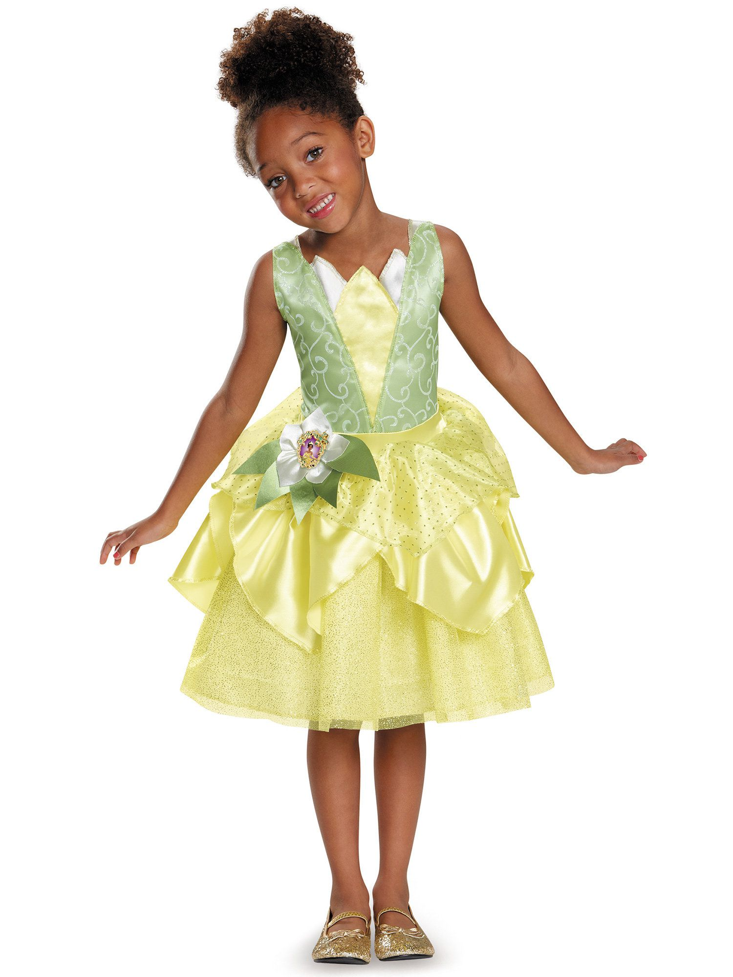 Disneyu0027s The Princess and the Frog Tiana Classic Costume Toddler  sc 1 st  Wholesale Halloween Costumes & Disneyu0027s The Princess u0026 the Frog Girls Tiana Classic Costume ...