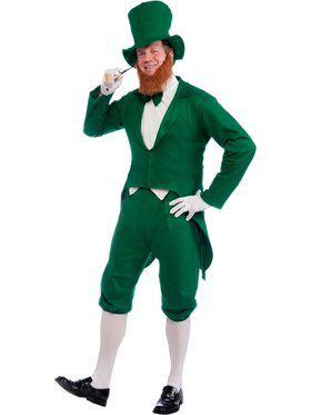 Disposable Adult Leprechaun Costume