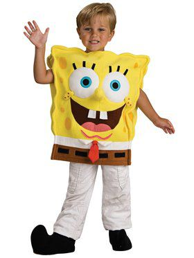 Dlx Child Spongebob Costume