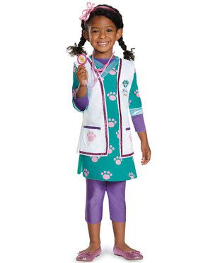 Doc McStuffins Pet Vet Deluxe Costume Toddler