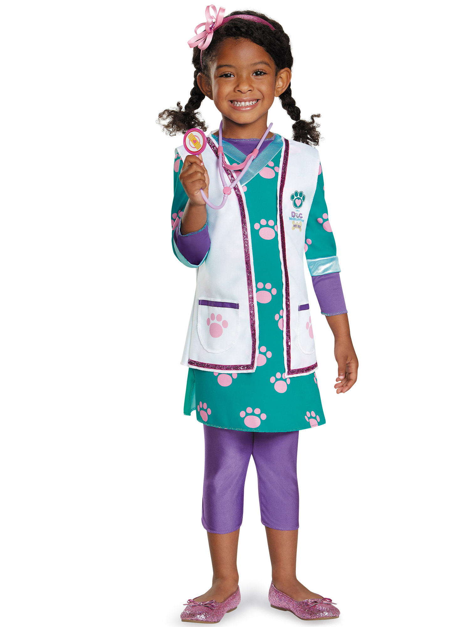 Disguise Inc Doc Mcstuffins Pet Vet Deluxe Costume For To...