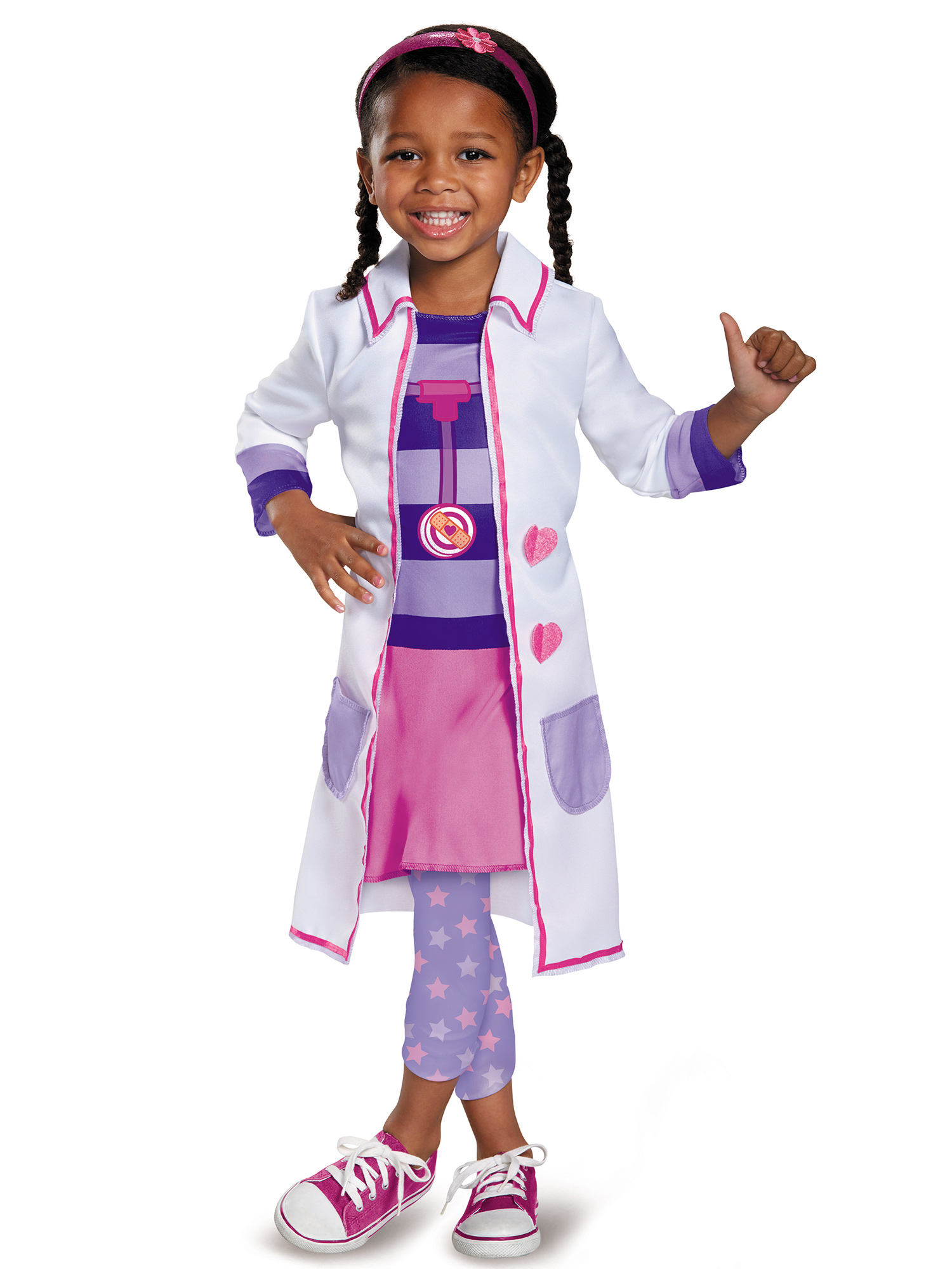 Doc McStuffins Toy Hospital Classic Costume for Toddler DI98571-2T