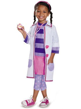 Doc McStuffins Toy Hospital Deluxe Costume Toddler