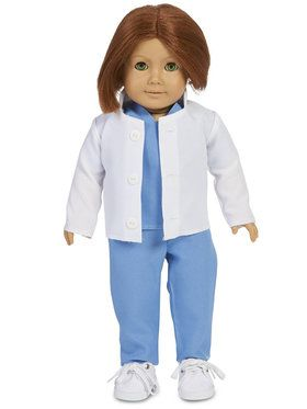 "Doctor 18"" Doll Costume For Children"