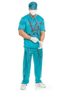 Adult's Doctor Dead Costume