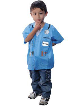 Doctor Kit Blue Boy's Costume