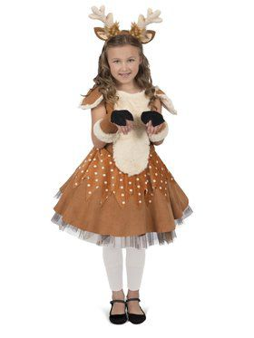 Doe The Deer Child Girl's Costume