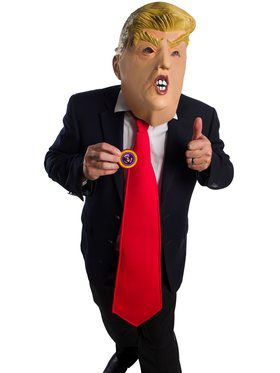 1/2 Donald Chump Mask Kit