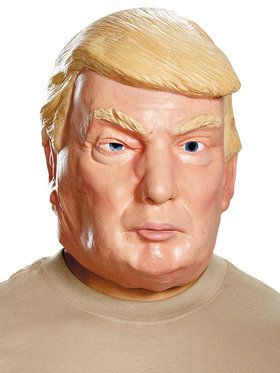 Donald Trump Deluxe Mask For Adults