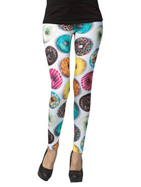 Donut Female Leggings For Adults