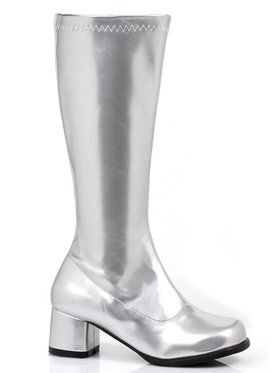 Dora (Silver) Boots For Children