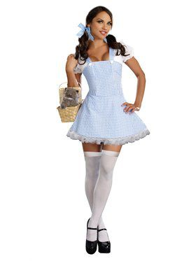 Dorothy Blue Gingham Dress Adult Costume