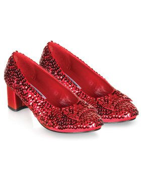 Dorothy (Red Sequin) Child Shoes