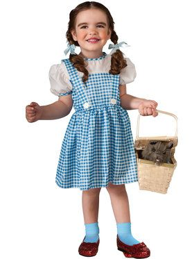 Dorothy Costume For Toddlers