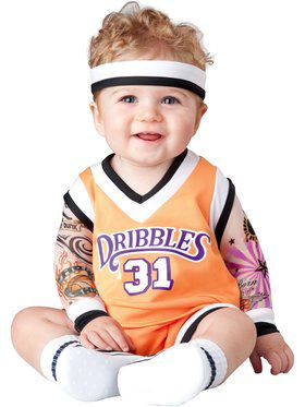 Double Dribble Basketball Player Costume Toddler