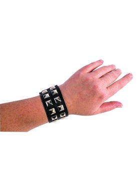 Black Double Studded Bracelet