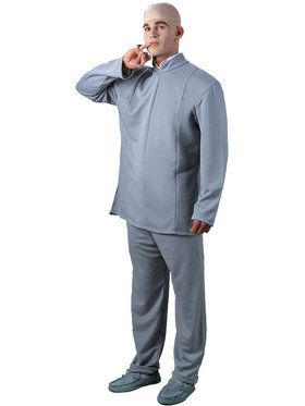 Dr. Evil Deluxe Adult Costume
