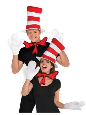 Cat In The Hat - Accessory Kit - Adult