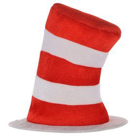 Cat In The Hat - Striped Hat - Child Costume Accessory