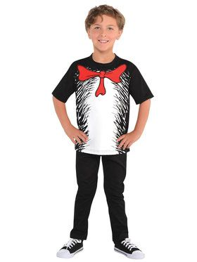 Cat In The Hat - T-Shirt - Child Accessory