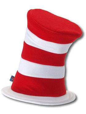 Dr. Seuss The Cat in the Hat - Deluxe Hat For Adults