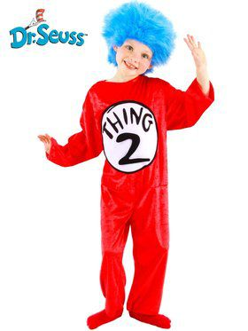 Dr. Seuss Thing 1-2 Children's Costume