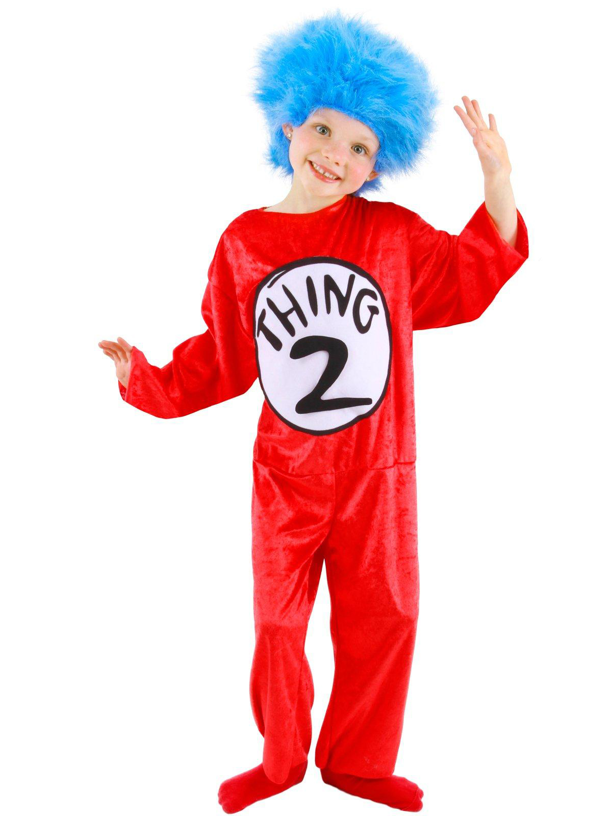 Elope Dr. Seuss - Thing 1 Or 2 Child Costume