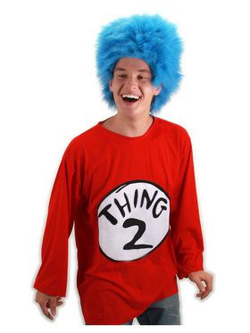 Dr Seuss - Thing 2 Costume XXL