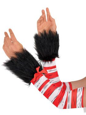 Cat In The Hat - Arm Warmers - Adult Accessory