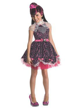 Draculaura Sweet 1600 Monster High Deluxe Girl's Costume