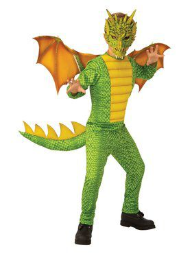 Dragon Child Costume for Kids