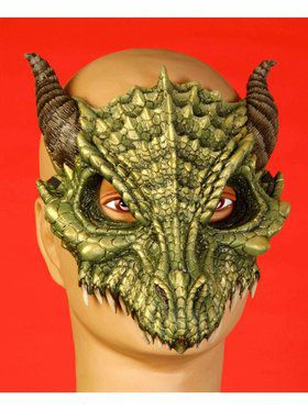 Dragon Half Mask Accessory