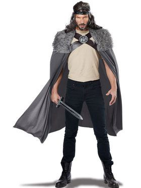 Dragon Master Cape Men's Costume