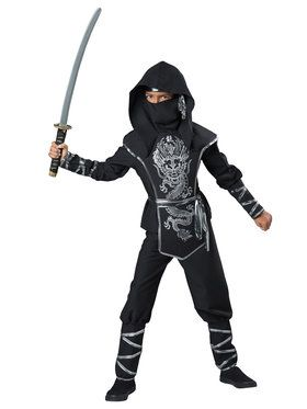 Dragon Ninja Boy's Costume