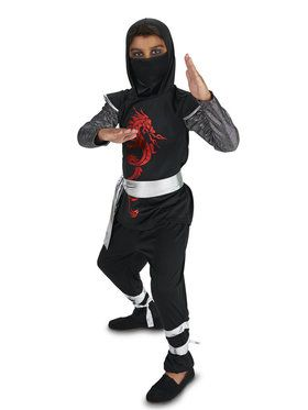 Dragon Ninja Child Costume for Halloween