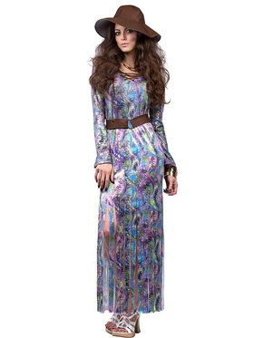 Dream On 70's Maxi Women's Costume