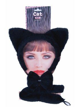 Dress Up Accessory Kit Black Cat