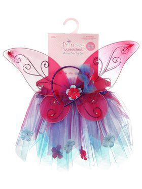 Dress Up Skirt Wings and Headband Set