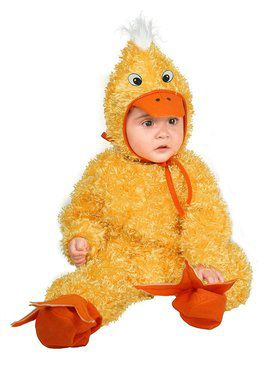 Kid's Duck Chick Costume