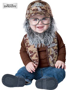 Duck Dynasty Uncle Si Baby Costume Toddler