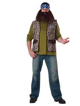 Duck Dynasty Willie Adult Costume